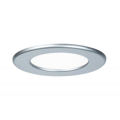LED podhledové svítidlo stříbrné kulaté 6W IP44
