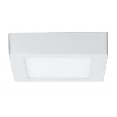 LED stropní svítidlo Lunar 11W hranaté matná bílá