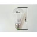 Stmívatelná LED žárovka 9W E27 Denní bílá