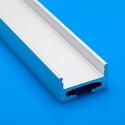 Nástěnný hliníkový LED profil I