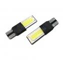 LED auto žárovka T10 COB 2W oboustranná CAN-BUS