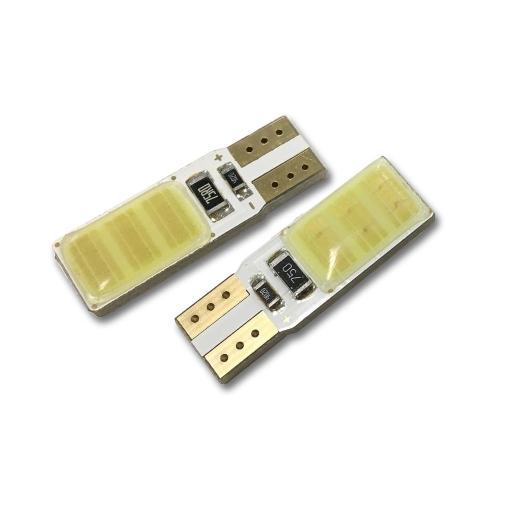 LED auto žárovka T10 COB 2W oboustranná