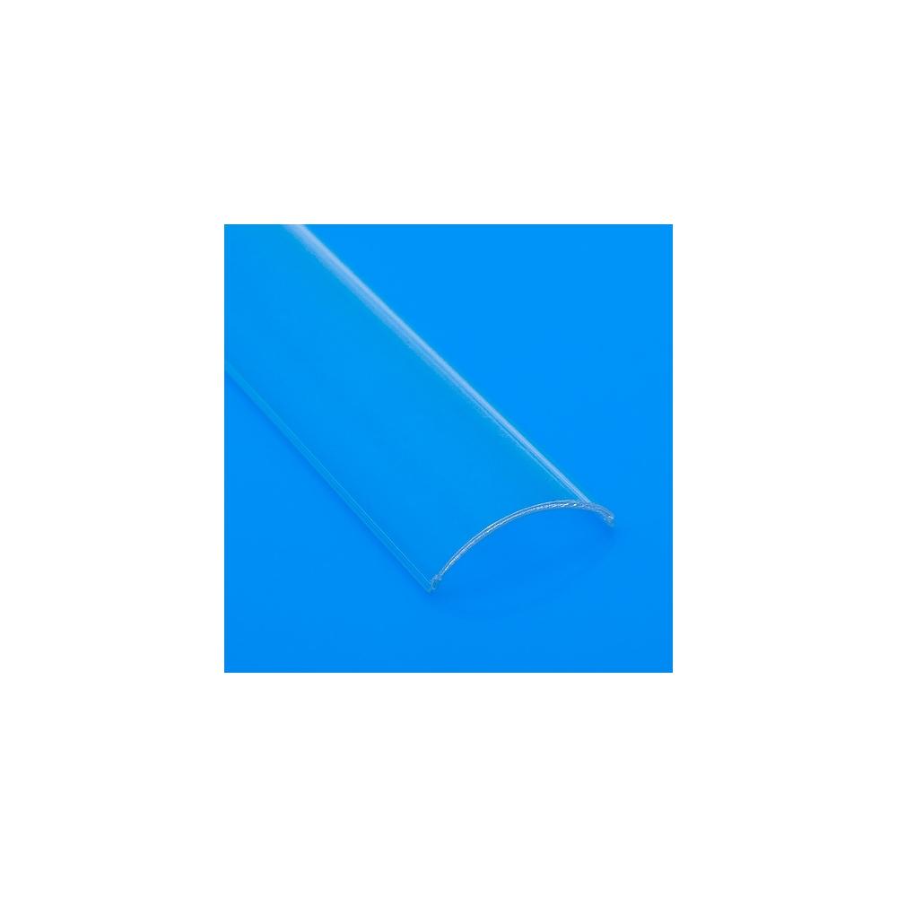 Difuzor profilu rohového SLIM oblý čirý