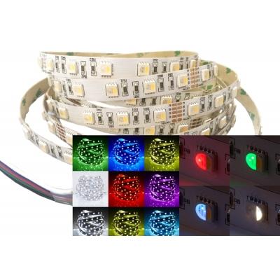 LED pásek RGBW 20W 24V IP20