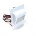 LED vestavné svítidlo Decorus bílé 1,5W 12V studená bílá