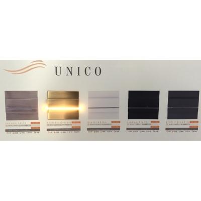 LED schodišťové svítidlo UNICO 1,2W 12V mosaz