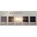 LED schodišťové svítidlo MODESTO 1,2W 12V mosaz