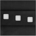 LED nástěnné svítidlo Modesto černé 1,2W 12V studená bílá