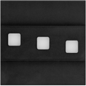 LED schodišťové svítidlo MODESTO 1,2W 12V černá
