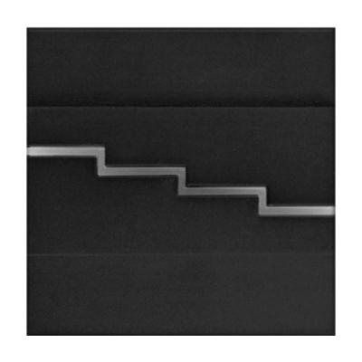LED nástěnné svítidlo Secreto černé 1,2W 12V studená bílá