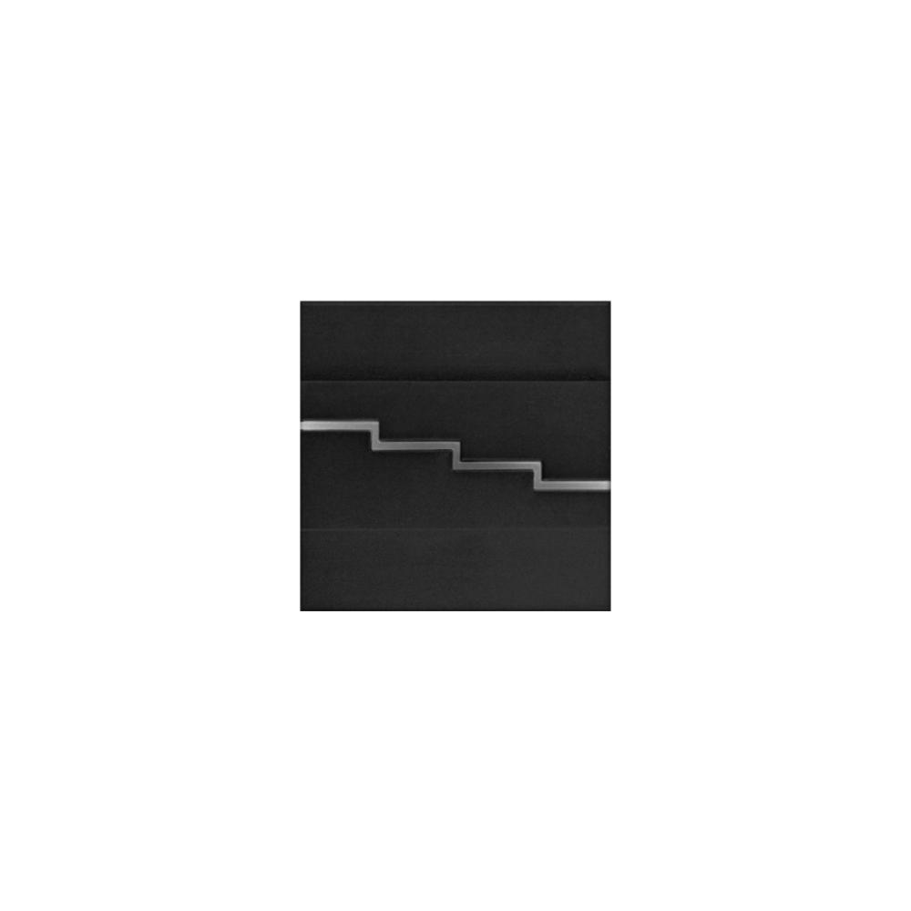 LED schodišťové svítidlo SECRETO 1,2W 12V černá