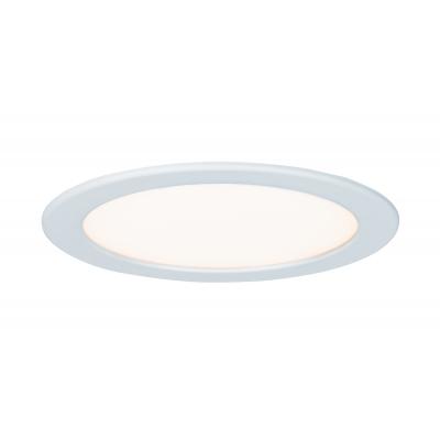 LED svítidlo podhledové bílé 18W IP44 kulaté teplá bílá