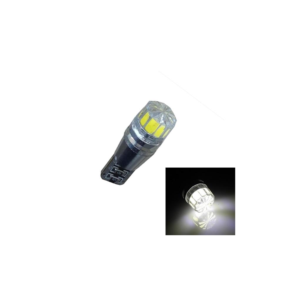 LED auto žárovka T10 COB 2W-12x33