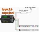 Programovatelný USB LED ovladač 5K 20A