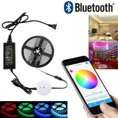 BLUETOOTH LED ovladač pro LED pásky, 1barevné,RGB,RGBW,moduly