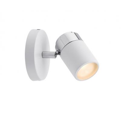 LED spotové svítidlo Zyli bílá/chrom GU10 IP44