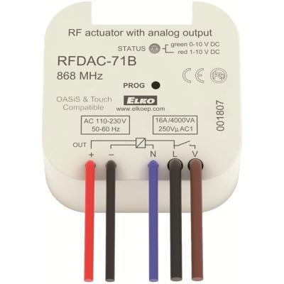 RF analogový stmívač, regulátor RFDAC-71B /230 V