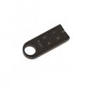 RF klíčenka., ovládač černá