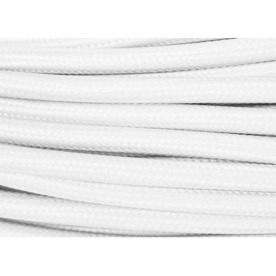 Textilní pletený kabel - 2x0,75mm