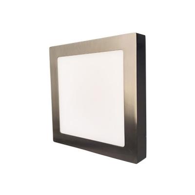 LED stropní svítidlo SQUARE 12W Matt Chrome
