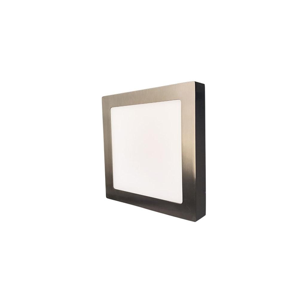 LED stropní svítidlo SQUARE 18W Matt Chrome