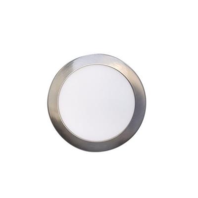 LED stropní svítidlo ROUND 12W Matt Chrome