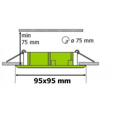 Podhledový rámeček D10-1