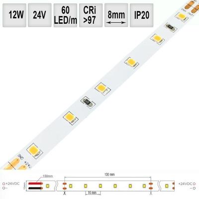 LED pásek 13W/m 24V CRI98 IP20