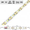 LED pásek 20W/m 12V CRI 90 IP20