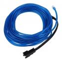 EL WIRE - svítící kabel - barva modrá 1m