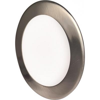 LED podhledové svítidlo VEGA 6W stříbrné kulaté