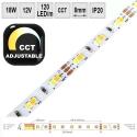 LED pásek 18W/m 12V CRI80 IP20 CCT