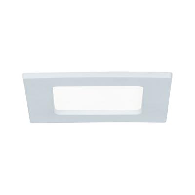 LED podhledové svítidlo 6W IP44 Paulmann bílé hranaté
