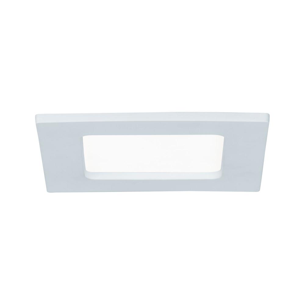 LED svítidlo podhledové bílé 6W IP44  čtverec denní bílá