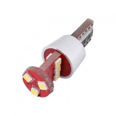 LED auto žárovka T10 SMD 9W 12x30