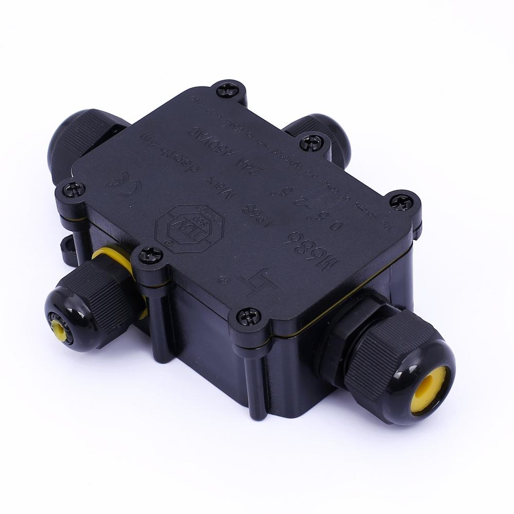 Vodotěsná rozbočovací krabice M686 IP68, 4xkabel