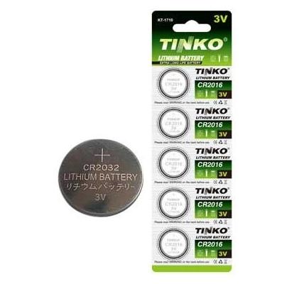 Knoflíková lithiová baterie CR2430 TINKO