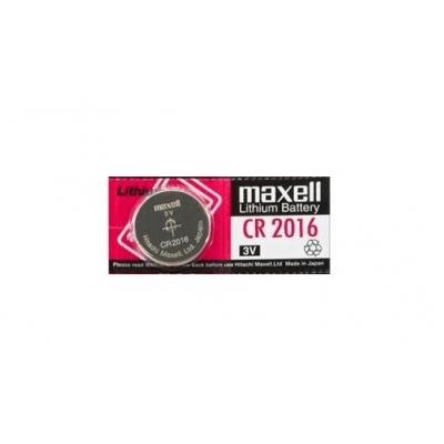 Knoflíková lithiová baterie CR2016 Maxell