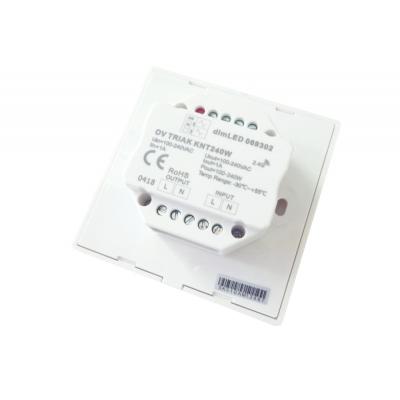 dimLED TRIAK 230V nástěnný stmívač KNT240W