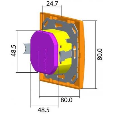 Pohybový spínač/vypínač dvojvodičový