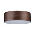 Stropní svítidlo Neordic Liska 3xE27 tmavé dřevo
