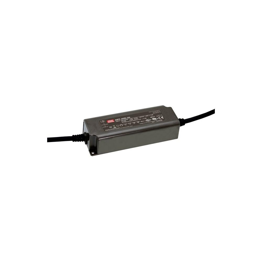 LED zdroj voděodolný Mean Well NPF-40D-42