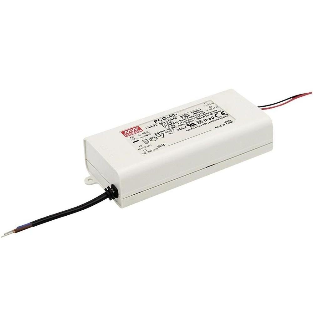 LED zdroj Mean Well Triakový PCD-40-1050B