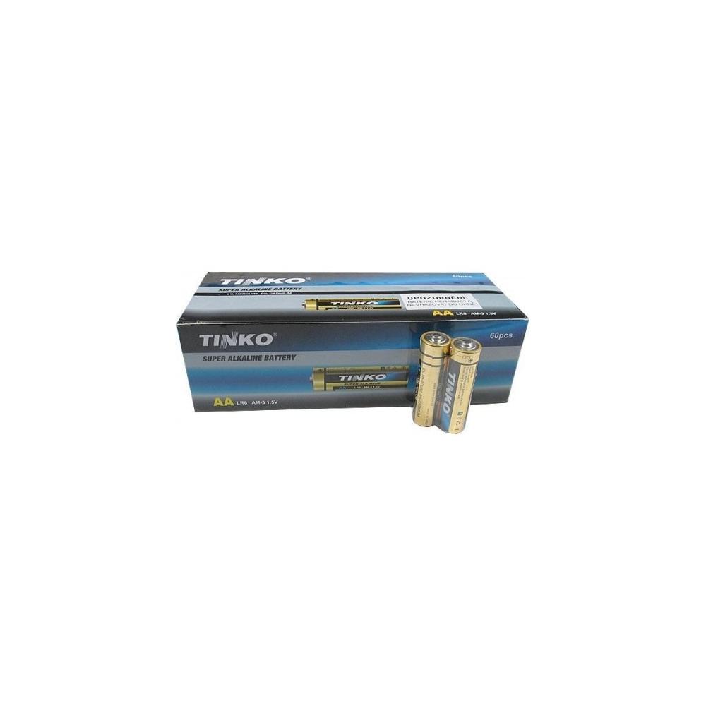Tužkové alkalické baterie AA(LR6) 1,5V 60ks