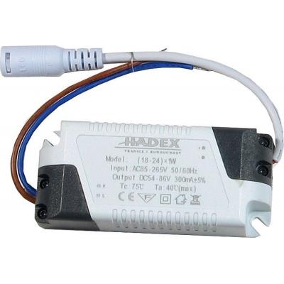 Proudový LED driver 18-24W 300mA