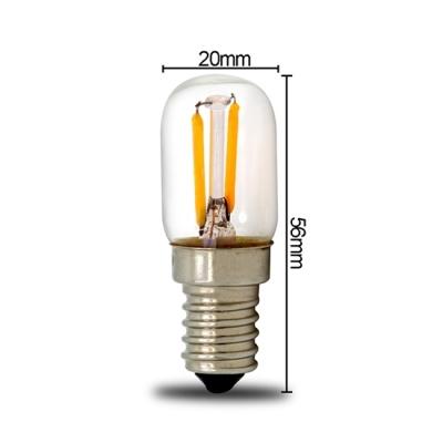 LED žárovka 2W 20x56 E14