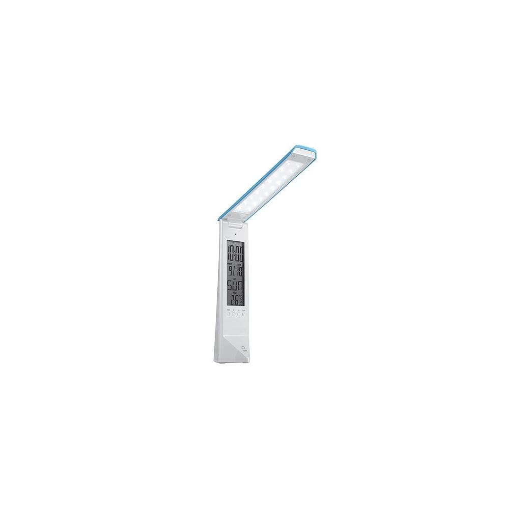 LED pokojová lampička Deluxe bílo/modrá
