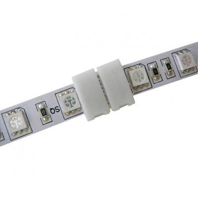 Nepájivá 10mm rovná spojka pro RGB LED pásky