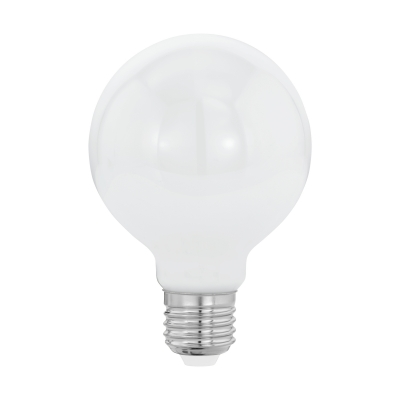 LED žárovka 7W  E27 OPAL 80mm