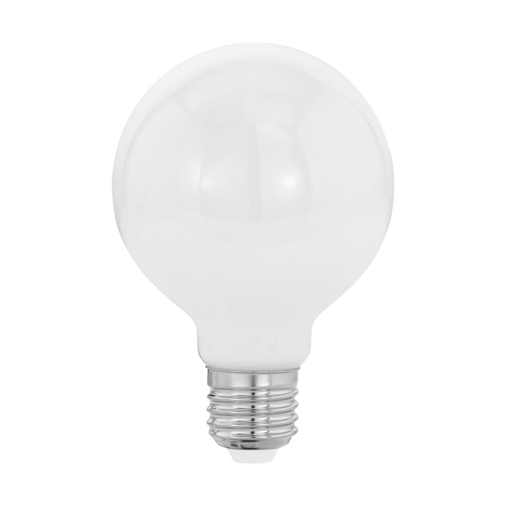 LED žárovka 7W  E27 OPAL 80mm